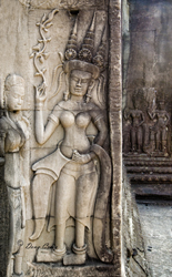 Angkor Bas Relief - Photo #1