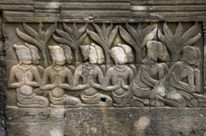 Angkor Bas Relief - Photo #4