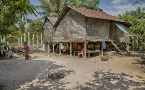 Cambodian Dwellings - Photo #1
