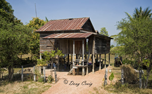 Cambodian Dwellings - Photo #23