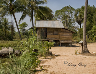 Cambodian Dwellings - Photo #25