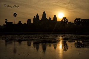 Typical Angkor Sunrise